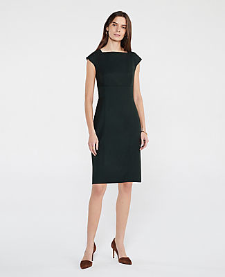Ann Taylor The Cap Sleeve Sheath Dress