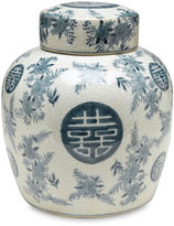 AA Importing 9 Bazille Jar, Blue/White