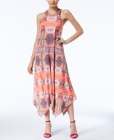INC International Concepts Petite Embellished Printed Maxi Dress, Created for Macy's