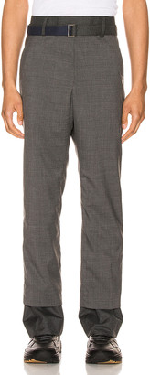 Sacai Suiting Pants in Gray | FWRD