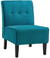 Linon Coco Teal Blue Accent Chair