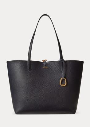 Ralph Lauren Faux-Leather Reversible Tote