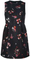 RED Valentino floral print flared dress - women - Polyester/Acetate - 40