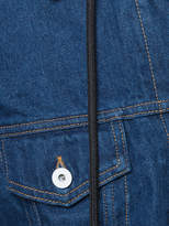Off-White layered denim jacket