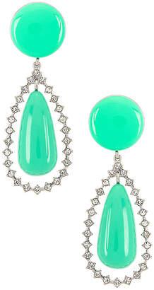 Lele Sadoughi Crystal Teardrop Earrings
