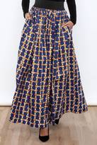 Cleo Printed Long Skirt