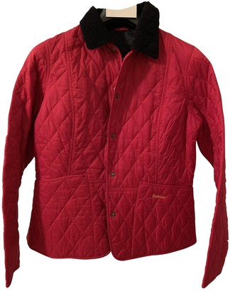 Barbour Red Synthetic Jackets