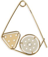 Loewe Women's 'Meccano' Double Pin Bag Charm - Metallic