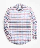 Brooks Brothers Non-Iron Milano Fit Plaid Sport Shirt