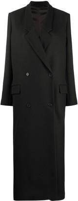 Kenzo Long Double-Breasted Coat