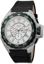 Esprit EL101011F03 - Men's Watch, Leather, Black Tone