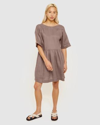 Jag Elly Linen Swing Dress