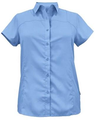 White Sierra Women's Gobi Desert SS Shirt 2.0 - Xlarge, Provence Blue