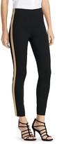 Lauren Ralph Lauren Metallic Tuxedo Stripe Skinny Pants