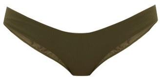 Melissa Odabash Vienna Ribbed Bikini Briefs - Dark Green