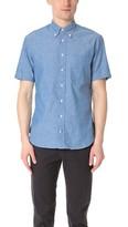 Gitman Brothers Short Sleeve Iridescent Chambray Shirt