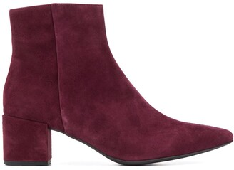 Högl Pointed-Toe Ankle Boots
