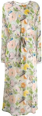 Essentiel Antwerp floral print midi dress