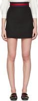 Gucci Black Simple Miniskirt