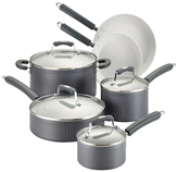 Paula Deen Savannah Hard-Anodized Non-Stick Cookware Set (10 PC)