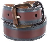 Salvatore Ferragamo Bicolor Patent Leather Belt