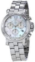Guess GC Mother of Pearl Dial Ladies Chronograph Watch