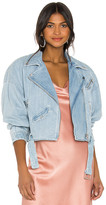 LAMARQUE Dylan Denim Jacket. - size L (also