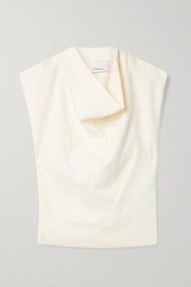 3.1 Phillip Lim - Draped Stretch-knit Tank - Cream