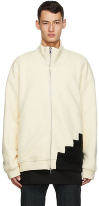 Cornerstone White Wool Fleece Jacket