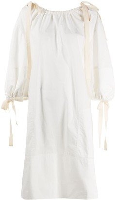 Lee Mathews Cotton Shift Dress