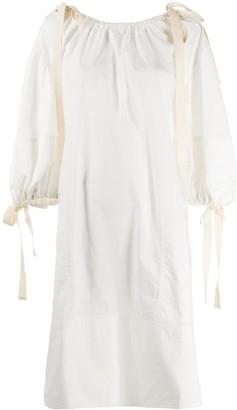 Lee Mathews Cotton Shift Dress