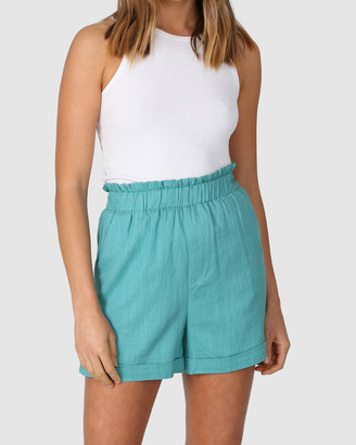 Lost in Lunar - Women's Blue Shorts - Venus Shorts - Size One Size, 6 at The Iconic