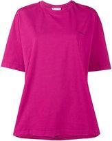 Balenciaga Cocoon logo T-shirt - women - Cotton/Spandex/Elastane - L