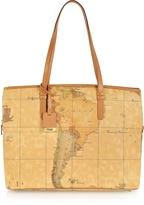 "Alviero Martini 1a Prima Classe - Geo Printed Large Business ""New Classic"" Shoulder Bag"