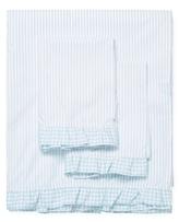 Melange Home Striped Cotton Percale Sheet Set