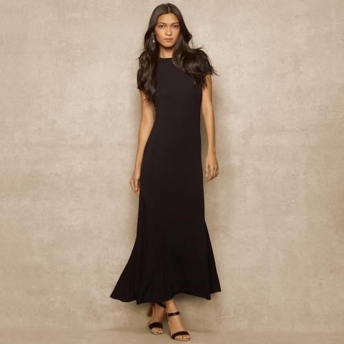 Ralph Lauren Blue Label Jersey Maxidress