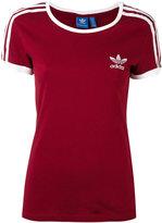 adidas logo T-shirt - women - Cotton - 40