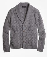 Brooks Brothers Heritage Cable Knit Cardigan