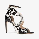 Sophia Webster Daphne Sandal (Black/Winter White) Women's Shoes