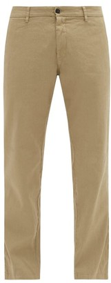 Barena Rionero Linen-blend Slim-leg Trousers - Beige