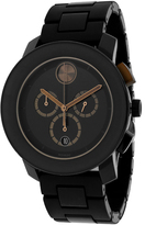 Movado 3600271 Men's Bold Black TR90 Composite & Stainless Steel Watch