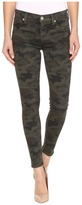 Hudson Nico Mid-Rise Ankle Skinny in Infantry Camo Women's Jeans