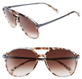 Wildfox Couture Women's Baroness Aviator Acetate Frame Sunglasses