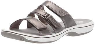 Clarks Women's Brinkley Coast Slide Sandal