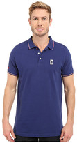 U.S. Polo Assn. Solid Pique Polo Shirt w/ Color Tipped Collar & Cuffs