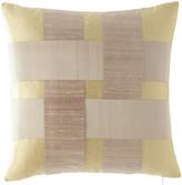 Sweet Dreams Patina Silk Lattice Pillow