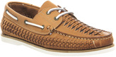 Office Bombastic Woven Boat Shoes