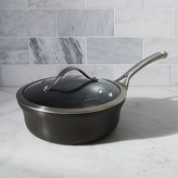 Crate & Barrel Calphalon Contemporary TM Non-Stick 2.5 qt. Shallow Saucepan with Lid