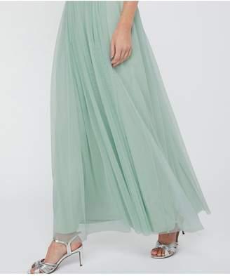 Monsoon Elyse Embellished Waist Maxi Dress