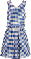 Mother of Pearl Lola ruffled gingham cotton dress